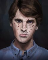 Norman Bates Motel by darnheck