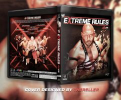 Extreme Rules 2013 Custom BluRay Cover by TheReller