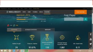 My stats on World of Warships by BronyOfEquestria142