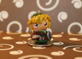 Chibi Link Skyward Sword Charm by KBelleC