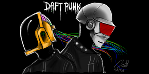 Daft Punk by wolflove342