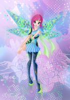 Winx Tecna Bloomix by fantazyme
