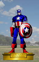 In Memorium: Captain America by portfan