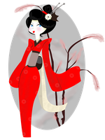 Little geisha by TeeterDance