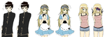 VN Sprites: Younger Siblings by BlueStorm-Studio