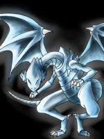 Blue-eyes white dragon by Nami-v