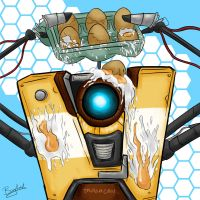 Claptrap Egg Avatar by Barghuest
