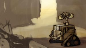 Wall-e by Toxandreev