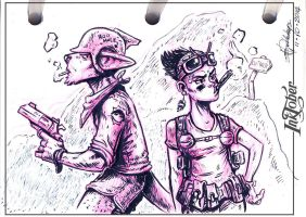 Inktober - Entry: 11-10-2014 by Ben-G-Geldenhuys