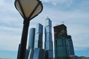 Moscow-city by nspnott