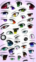 Anime Eyes by animerckxx