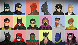 BatFamily V2 by DraganD