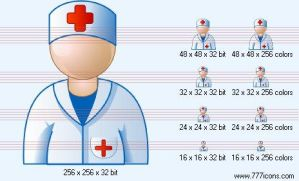 Doctor Icon by medical-icon-set