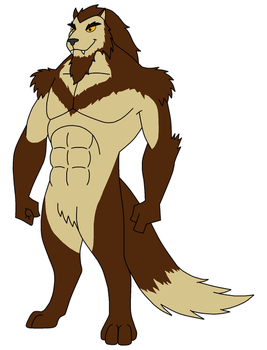 Wolf Beast OC Commission for Wolfbeast99 by HewyToonmore