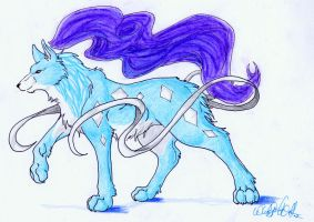 Wolf_Suicune1 by WhiteSpiritWolf