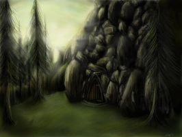 Tumnus Cave concept by snakeartworx