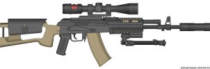 AK94 Tactical Light Sniper by Geke-sulen