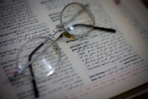 Glasses In Dictionary by lonehero83