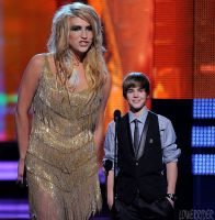 Kesha and Justin Bieber by lowerrider