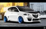 Lancia Ypsilon tuned by TeofiloDesign