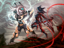 Le Fight by Alimika