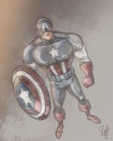 Captain America. by scootah91
