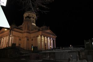 Helsinki Cathedral: another view not from square by zhuravlik26