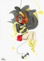 Pin-Up DC Girls_Batgirl by lora-zombie