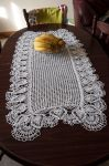 The crochet tablecloth by magicandcrochethook