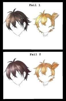 Training Hair (style INstockee) by Fhilippe124