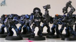 Iron Falcons Space Marines by Proiteus