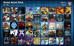 Game Aicon Pack 85 by HarryBana