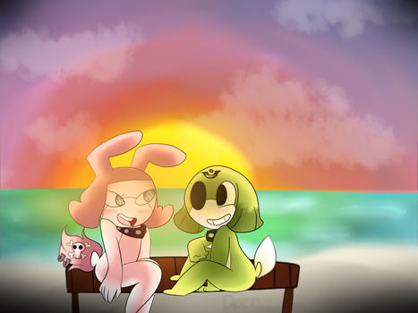 Beach .:COMM:. by CosmicNemo