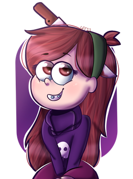 Mabel Pines Halloween by VioletWinged22