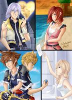 Kingdom Hearts 2: Redraw! by IchigoKeyblade