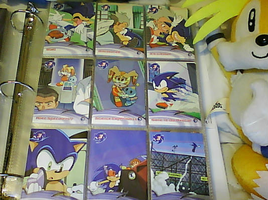 .:Sonic X Cards:. 37 - 45 by SEGAMew