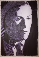 H.P. Lovecraft by grthink