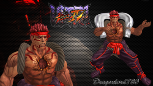 Evil Ryu vacation xps by DragonLord720