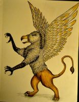 Custom Griffin for Justin by AmbitiousArtisan