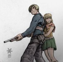 Resident Evil 4 by chilin by A-mike