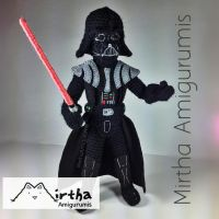 Darth Vader Amigurumi Star Wars by MirthaAmigurumis