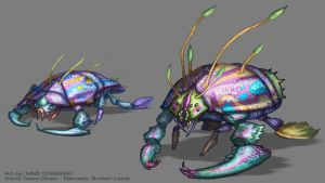 Prismatic Insect by MIKECORRIERO