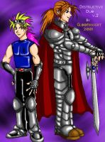 Year 2001: Destructive Duo by gloomknight