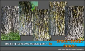 2014.08.24 | Bark of tree texture pack 1 by Stock-Stock-Stock