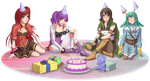 Happy Birthday Flora by TheRogueSPiDER