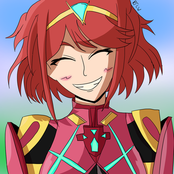 I'M IN LOVE WITH A SWORD?! (Xenoblade 2: Pyra) by TheCelesticWarrior