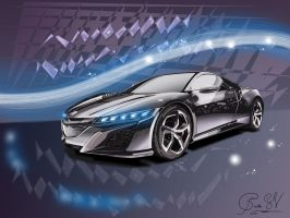 Acura NSX 2015 by daftdance