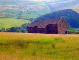 Peak District Barn by friartuck40