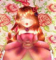 Art trade: Rose Princess by RoweniiChan