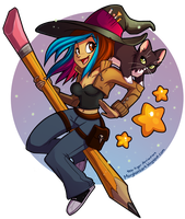 Witchsona by tea-tiger